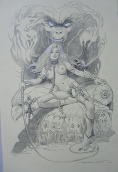 EROTICA COMMISSION BY ESTEBAN MAROTO SOLD Comic Art