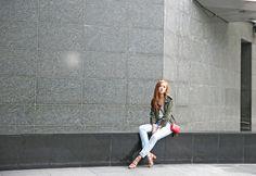Tomboy Chic Feat. Mango, YSL, Valentino - Camille Tries To Blog Camille Co, Tomboy Chic, Ysl, My Design, Valentino, Mango, Saint Laurent, Winter Jackets, Top Girls