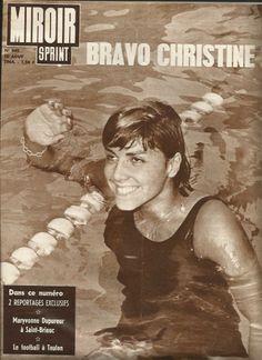 #piscine #Caron #ChristineCaron #Championne #JO #Olympique