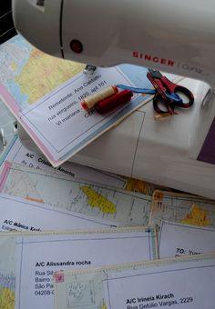 MAPS - Envelope Alterados - Mail Art