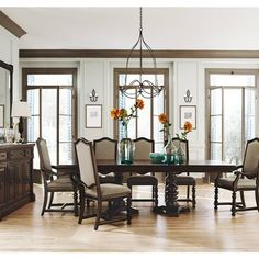 Pacific Canyon Dining Table | Bernhardt | Star Furniture | Houston, TX  Furniture | San