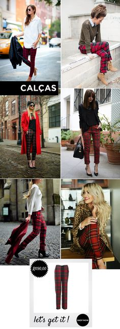 Look, outfit, streetsyle, fashion, moda, chess, tartan, xadrez, pattern, classic, estampa, padrões classicos, brand, marca, pants, calça shopcarolfarina.com.br