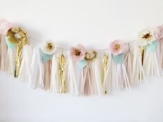 A little over a year ago, I started an etsy shop for my floral tassel  garlands, letters, crowns, cake toppers, etc. I closed it this past April  to focus on other things. This tutorial is a thank you to those that have  followed me and supported me.   Supplies  Paper trimmer (I use a heavy