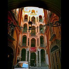 Italy, Naples- Palazzo Trabucco
