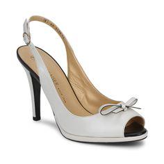 Sandale Peter Kaiser CLARIS Blanc / Noir