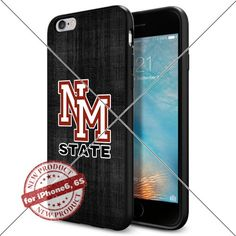 WADE CASE New Mexico State Aggies Logo NCAA Cool Apple iPhone6 6S Case #1370 Black Smartphone Case Cover Collector TPU Rubber [Black] WADE CASE http://www.amazon.com/dp/B017J7NRB0/ref=cm_sw_r_pi_dp_OTFwwb1W0A740