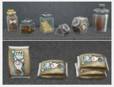 Pet Food & Snacks for The Sims 4 by Brazenlotus