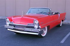 1957 LINCOLN PREMIER CONVERTIBLE - Barrett-Jackson Auction Company - World's Greatest Collector Car Auctions