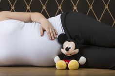 Disney Maternity. :) definitely posing with a mickey for a boy and a minnie for a girl. love this!