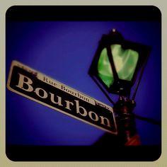 Bourbon St., New Orleans