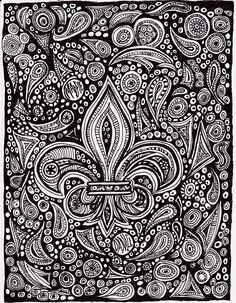 A doodle I drew.  Maybe an iphone cover?