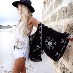 White Halter Backless With Lace Cami Top-Romwe