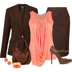 """""""The Color Combo"""" by arjanadesign on Polyvore"""