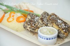 Bissen fürs Gewissen: {Rezept} Tofu-Schnitzelchen mit Chia-Kokos-Kruste ...