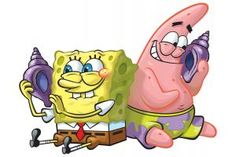 We might make a pair sack for spongebob and patrick. People can buy it for their best friends and take them away!