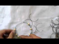 Mandala¡¡ Cómo hacer un mandala de alambre.