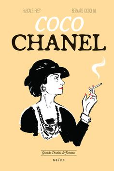 Coco Chanel en BD http://www.vogue.fr/mode/news-mode/articles/coco-chanel-version-b-d/18456