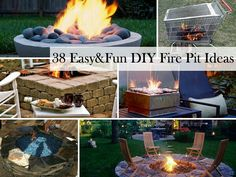 Great ideas for your fire pit