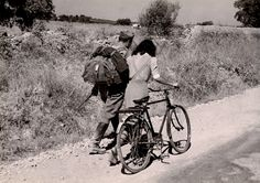 Robert Capa, Lovers Parting, Sicily 1943.