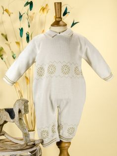 17df1b674bbb Pretty Originals Style JP66000 Ivory   Beige Knitted Romper £30