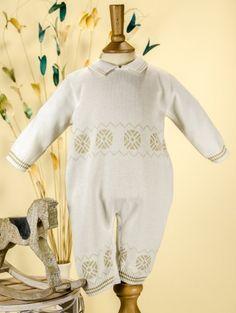25b6b7fcc2c Pretty Originals Style JP66000 Ivory   Beige Knitted Romper £30