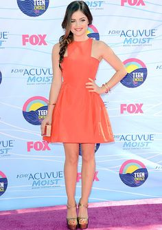 The Joyful Things In Life: The Star With Style: Lucy Hale