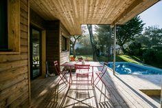 Villa Janfranchou, Hossegor, Aquitaine, france. Spacious modern house within walking distance of Estagnots beach