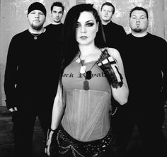 Evanescence! One of my all time favorite bands!! Amy Lee is amazing!!!
