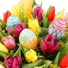 Easter Tulips | Easter-Tulips | Easter and Eggs | Pinterest