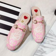 Women's Flat Slippers Fashion Casual Mules Loafers Arrival Shoes Q4033