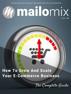 Mailomix Newsletter - How To Grow And Scale Your E-Commerce Business: The Complete Guide Weekly Newsletter, E Commerce Business, Best Practice, Ecommerce, Entrepreneur, Scale, Weighing Scale, E Commerce, Stairway