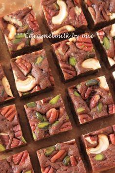 「キャラメルブラウニー」きゃらめるみるく   お菓子・パンのレシピや作り方【corecle*コレクル】