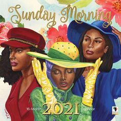 Art Calendar, Calendar Design, 2021 Calendar, African American Expressions, African American Women, African Americans, Morning Calendar, Still I Rise, Kunst
