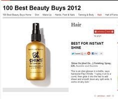 InStyle's 100 Best Beauty buys