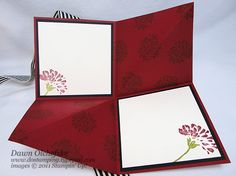 10-Min Tue Video: Amazing Fold Card (aka Squash Fold) w/Stampin' Up! Love & Care