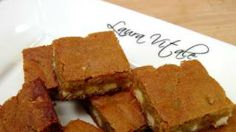 White Chocolate Blondies Recipe - Laura in the Kitchen - Internet Cooking Show Starring Laura Vitale