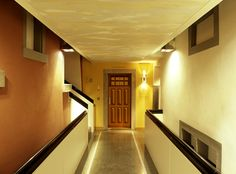 One of the few hallways in the Widder Hotel that reveal the historical parts of the 9 buildings, in which the Hotel was built. Luxury Rooms, Hallways, Buildings, Stairs, Home Decor, Aries, Foyers, Stairway, Decoration Home