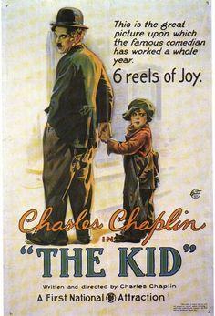 vintage movie poster: the kid