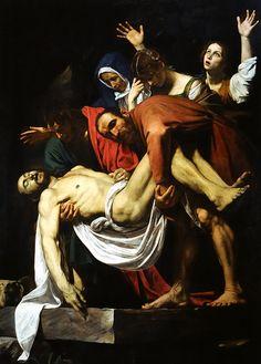 Musei Vaticani - Caravaggio - Deposizione