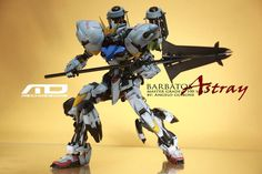 Custom Build: MG 1/100 Gundam Barbatos Astray Conversion - Gundam Kits Collection News and Reviews