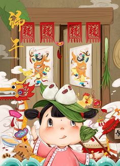 The Dragon Boat Festival/ Original works——Chinese festivals