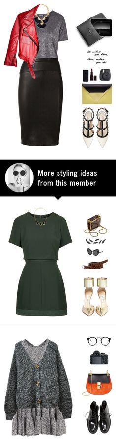 """""""Cool Date"""" by vendre-du-reve on Polyvore featuring Topshop, Tory Burch, Narciso Rodriguez, Dareen Hakim, Valentino, Laura Mercier, Fuji, Umbra and trainwreck"""