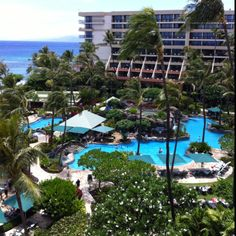 Marriot in Maui, Hawaii -- One of the places we stayed on our Honeymoon!