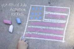 More than 75 patriotic activities, crafts, and foods to help you celebrate the of July with kids Summer Preschool Activities, Activities For Boys, Summer Camp Themes, Summer Fun, Summer Time, Holiday Crafts, Holiday Fun, Holiday Ideas, Diy And Crafts