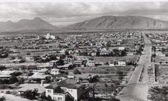fotografía tomada desde el cerro del obispado, del lado derecho se aprecia la avenida Simon Bolivar y del lado izquierdo el Hospital Universitario.