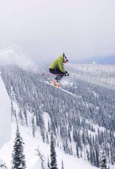 """""""Skier jumping"""" ... understatement!"""