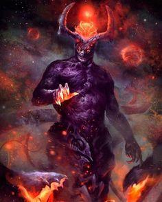 space demon by on DeviantArt Dark Fantasy Art, Fantasy Concept Art, Fantasy Artwork, Dark Art, Demon Artwork, Arte Obscura, Creature Concept, Monster Art, Angels And Demons