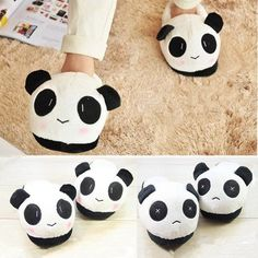 Ladies Casual Cartoon Thick Soles Homelike Cotton Slippers Sheep Pattern Girlish Cute Cartoon Warm Stylish Wild Indool Shoes
