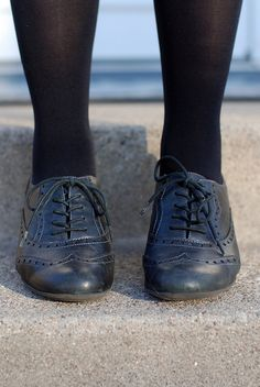 i want these black oxfords