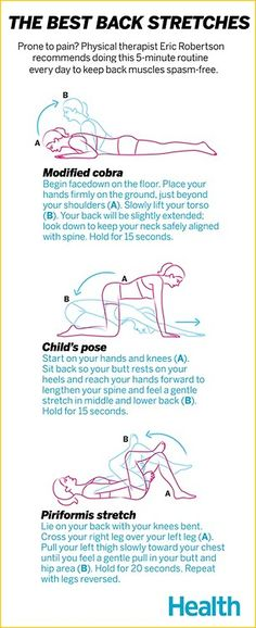 The Best Back Stretches #recovery #painrelief